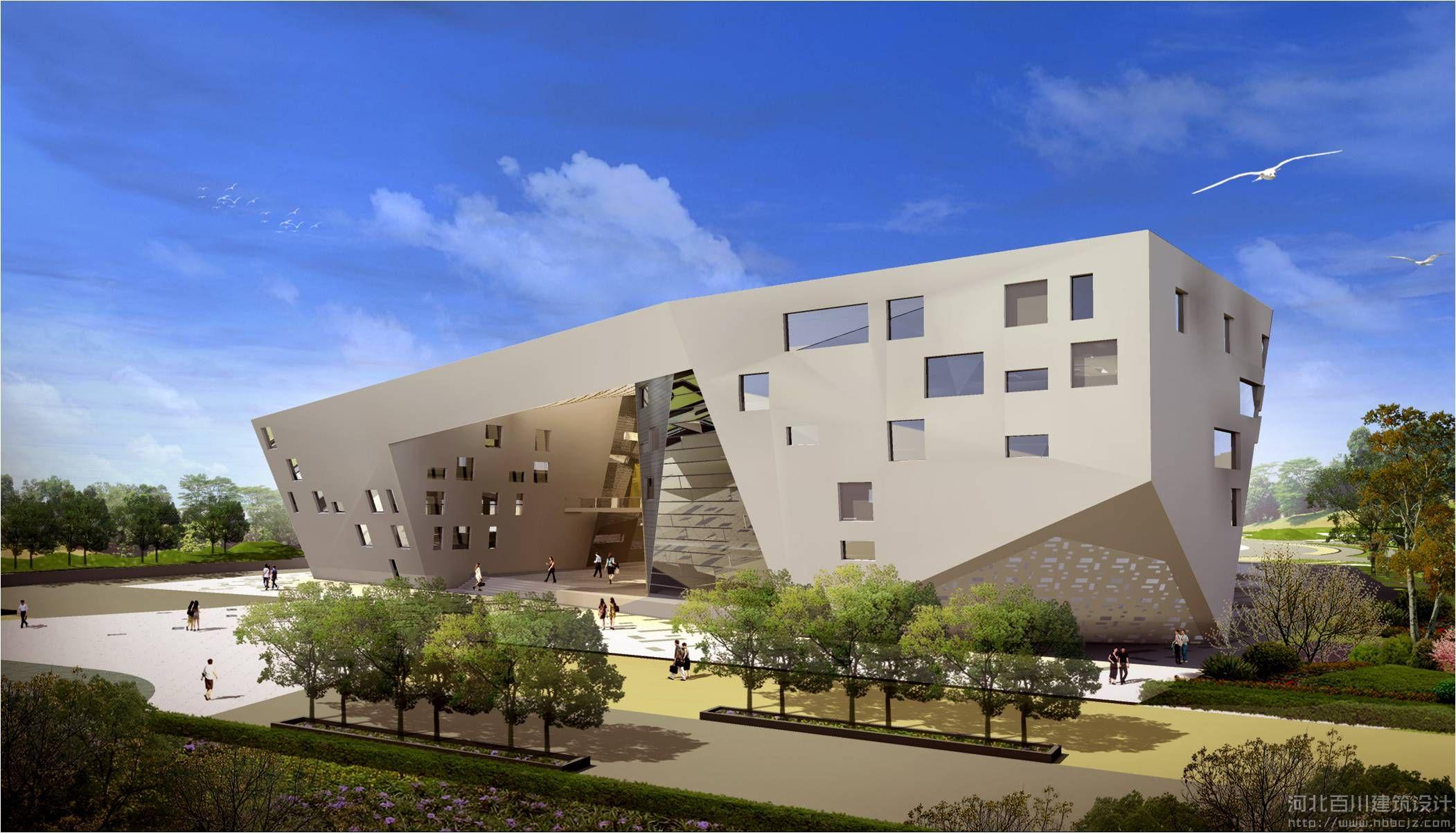 山东招远市文化中心
